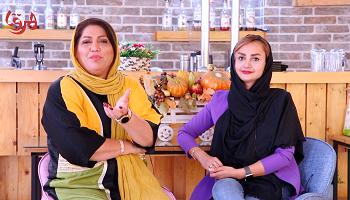 گفت وگو با سپیده اسدی Interview with Sepideh Asadi