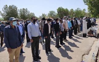 فیلم مراسم خاکسپاری منصور نعیمی Mansour Naeemi's funeral